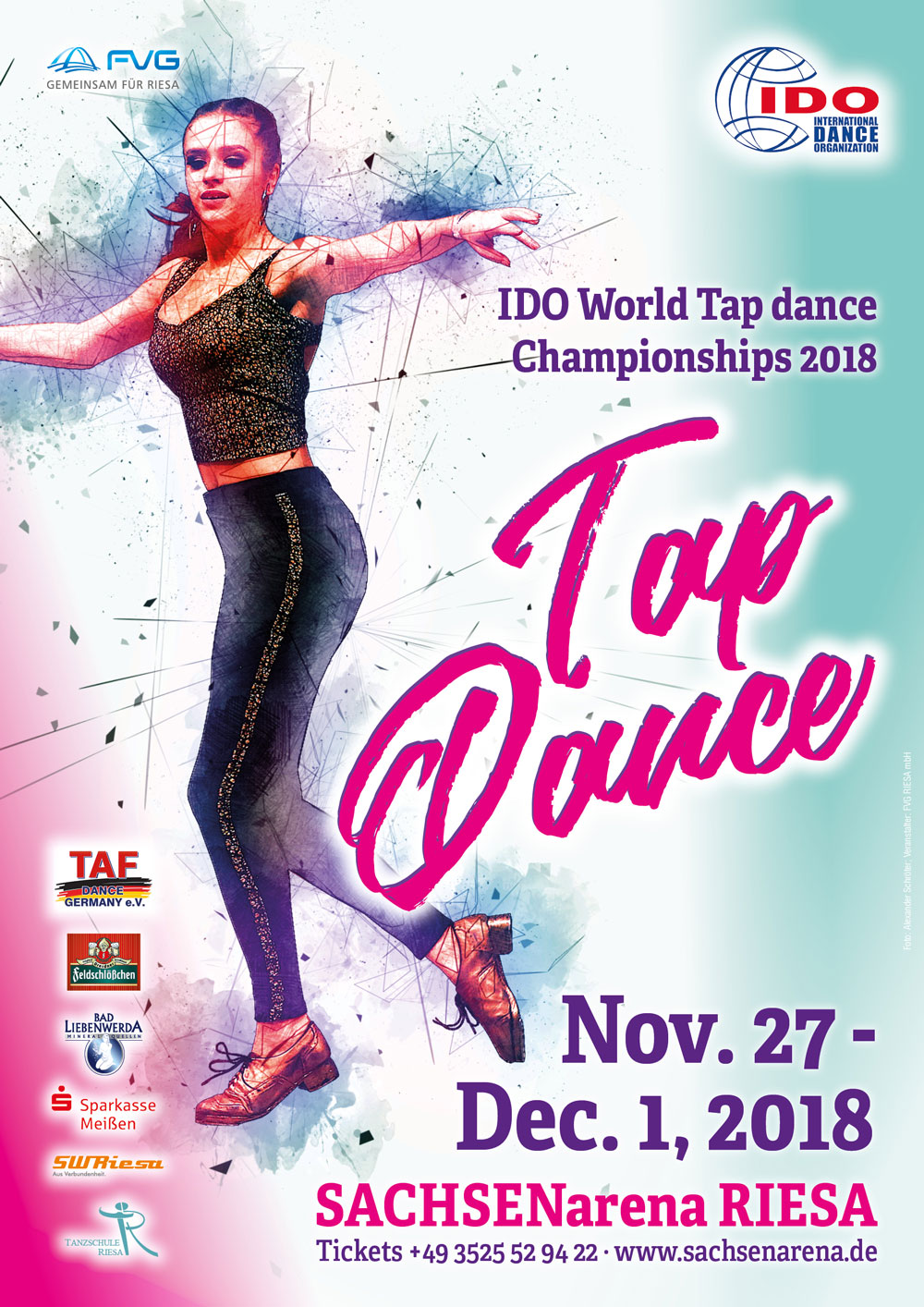 IDO - IDO WORLD TAP DANCE CHAMPIONSHIPS 2018, Germany