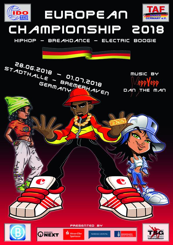 IDO - IDO EUROPEAN HIP HOP, BREAK DANCE AND ELECTRIC BOOGIE