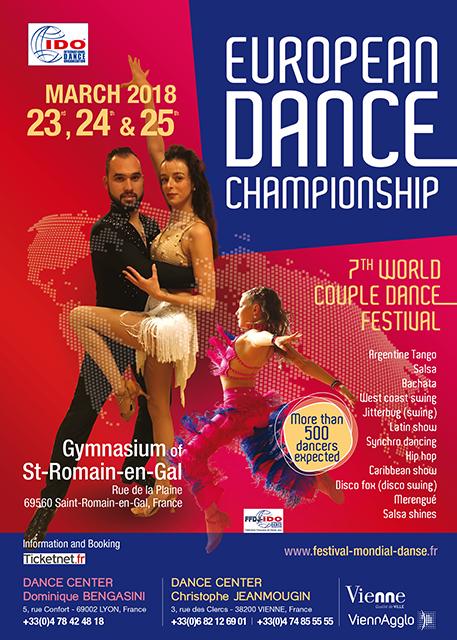 IDO - IDO EUROPEAN COUPLE DANCE CHAMPIONSHIPS , France