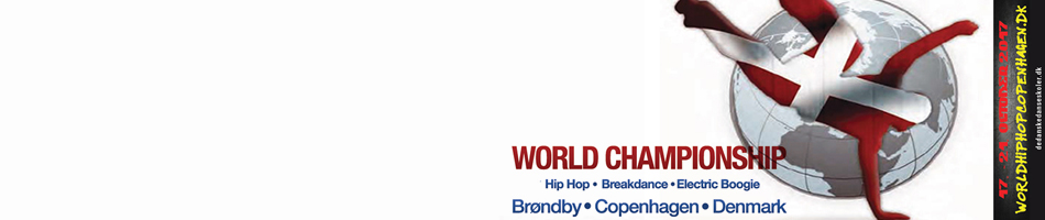 IDO WORLD HIPHOP, ELECTRIC BOOGIE & BREAK DANCE CHAMPIONSHIPS